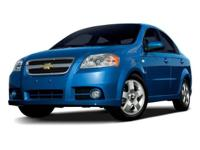 Black Granite Metallic 2009 Chevrolet Aveo 1LT FWD