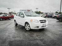 CARFAX One-Owner. Summit White 2009 Chevrolet Aveo 1LT