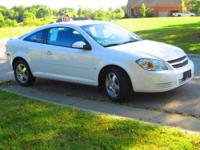 2009 Chevrolet Cobalt FWD coupe in White Metallic with