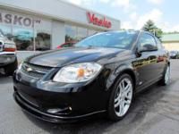 Sporty 2007 Chevrolet Cobalt SS with 2.0 L, 250 HP