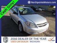 Options:  2009 Chevrolet Cobalt Ls Silver 2009