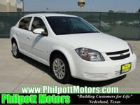 Options Included: N/A2009 Chevy Cobalt LT, white with