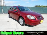 Options Included: N/A2009 Chevy Cobalt LT, red with