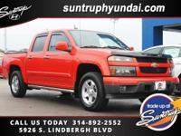 Clean CARFAX. 2009 Chevrolet Colorado LT RWD 4-Speed