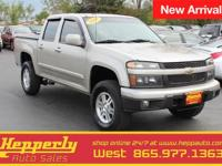New Price! Clean CARFAX. This 2009 Chevrolet Colorado