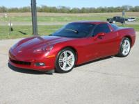 This 2009 Corvette is a true sports car! If your