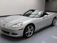 This awesome 2009 Chevrolet Corvette comes loaded with