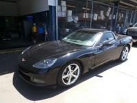 Come see this 2009 Chevrolet Corvette w/1LT. Its Manual