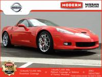 New Price! 2009 Chevrolet Corvette Z06 RWD Victory Red