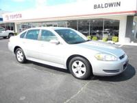 Check out this 2009 Chevrolet Impala 3.5L LT. This