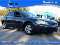 This 2009 Chevrolet Impala LS in Gray features: Clean
