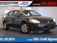 New Price! Imperial Blue Metallic 2009 Chevrolet Impala
