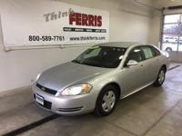 Options:  2009 Chevrolet Impala Ls|Flex Fuel! Welcome