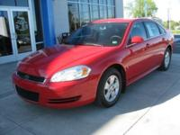 Options Included: N/A2009 Chevy Impala 3.5L LT Sedan