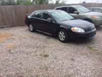 Options:  2009 Chevrolet Impala Lt 4Dr Sedan|Black|2009
