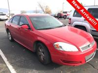 2009 Chevrolet Impala LT Victory Red  FWD 4-Speed