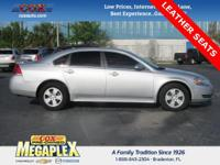 This 2009 Chevrolet Impala LT in Silver Ice Metallic is