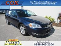 This 2009 Chevrolet Impala LT in Black is well equipped