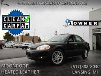 Options:  2009 Chevrolet Impala Ltz|Heated Leather