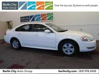 One owner Berlin City Certified 2009 CHEVY IMPALA LT