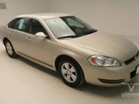 This 2009 Chevrolet Impala LT Sedan FWD with only 52772