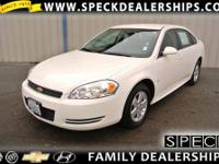This 2009 Chevrolet Impala is equipped with automatic