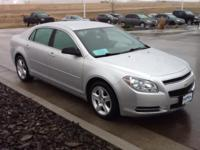 This outstanding example of a 2009 Chevrolet Malibu LS