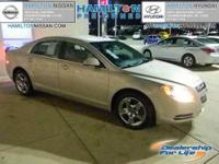 This 2009 Chevrolet Malibu will give you EXCELLENT GAS
