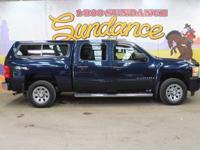 2009 Chevrolet Silverado 1500 LS, Blue, Chrome Package,