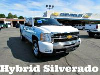 Hybrid Silverado! CarFax Certified 1 Owner No Accidents