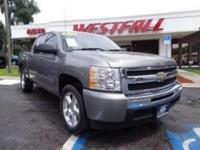 THIS IS A NICE 2009 CHEVY SILVERADO 1500 LT 2WD CREWCAB