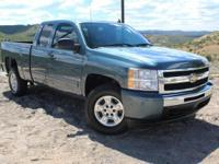 Extended Cab! Flex Fuel! If you demand the best, this