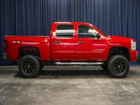 Clean Carfax 4x4 Lifted Truck with Towing Package!