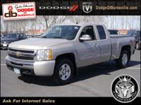 Options:  2009 Chevrolet Silverado 1500 4Wd Ext Cab