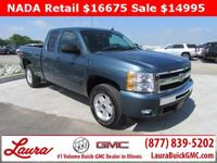 Recent Trade! LT 5.3 V8 Extended Cab 4x4. Z71, Towing