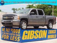 WWW.GIBSONTRUCKWORLD.COM 2009 Chevy Silverado 1500 LT