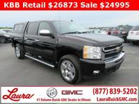 1-Owner New Vehicle Trade! LTZ 5.3 V8 Crew Cab 4x4. DVD