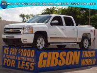 WWW.GIBSONTRUCKWORLD.COM 2009 Chevy Silverado 1500 LTZ