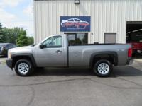 This 2009 Chevrolet Silverado 1500 Regular Cab Work