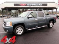 From mountains to mud, this Blue 2009 Chevrolet