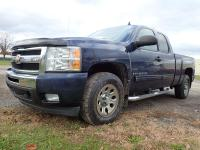 Options:  2009 Chevrolet Silverado |Blue Exterior|Stock