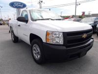 Nice Sliverado Work Truck.....4.3 V6 Engine, Automatic,