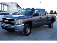 Exterior Color: steel gray metallic, Body: Crew Cab