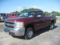REG CAB 4WD WELL MAINTAINED GOVT TRUCK WEHRS CHEVY