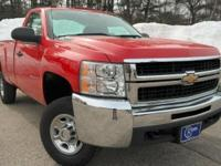 2009 Chevrolet Silverado 2500HD, Victory Red, One