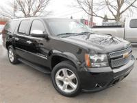 This 2009 Chevrolet Suburban 4dr LTZ SUV features a