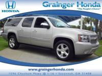 CARFAX 1-Owner. LTZ trim. Third Row Seat, Heated/Cooled