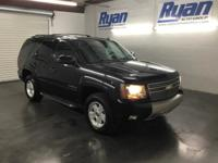 Clean CARFAX. Black 2009 Chevrolet Tahoe LT Z71 4WD