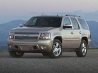 Clean CARFAX.This 2009 Chevrolet Tahoe LTZ 4WD at