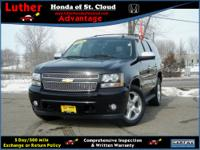 LTZ trim. 3rd Row Seat, Heated/Cooled Leather Seats,
